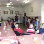 Vystoupení dětí z klubu v domově pro seniory
