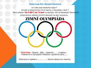 Zimní olympiáda ČSŽ