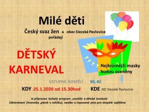 Karneval pro děti