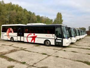 Aktualizace autobusových spojů
